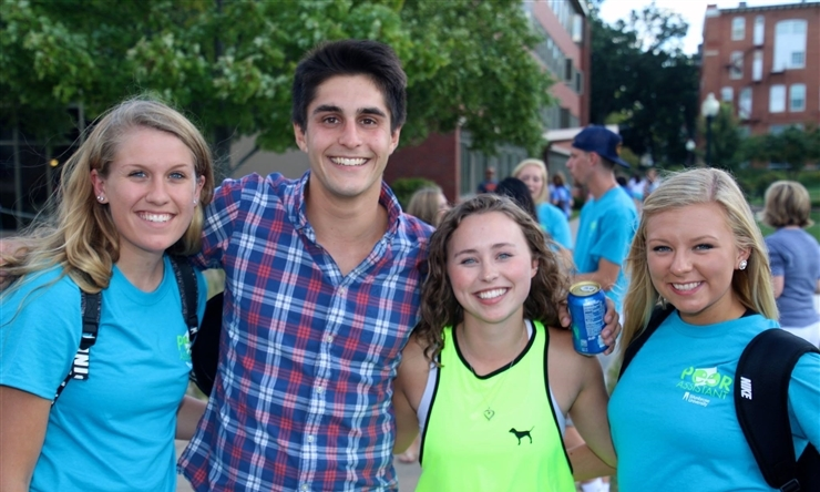 Students celebrate Welcome Week