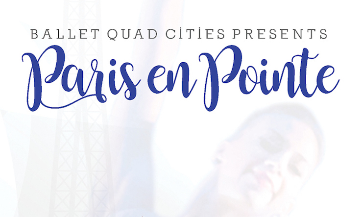 paris en pointe postcard