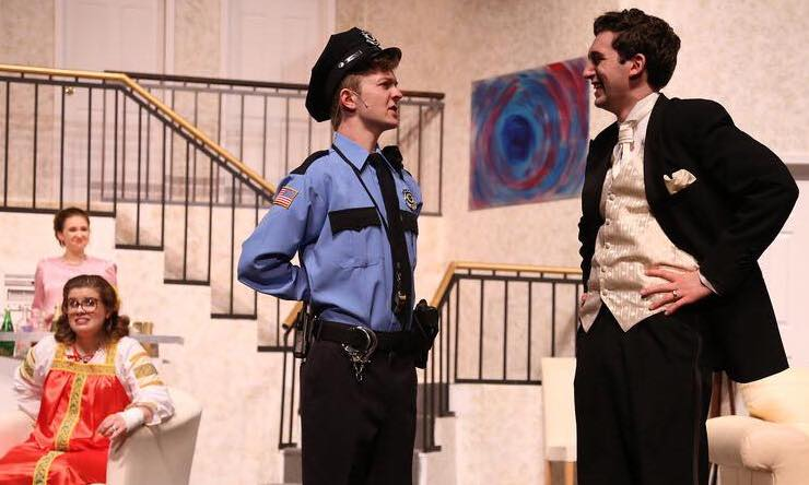 joe lasher as officer