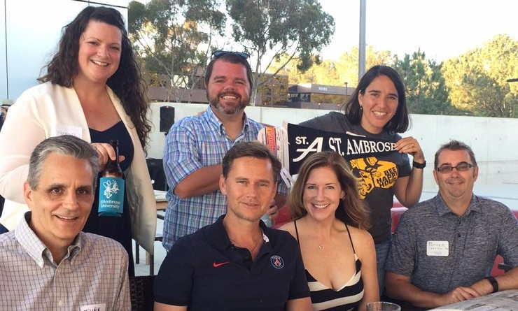 Bee Happy Hour, San Diego Alumni