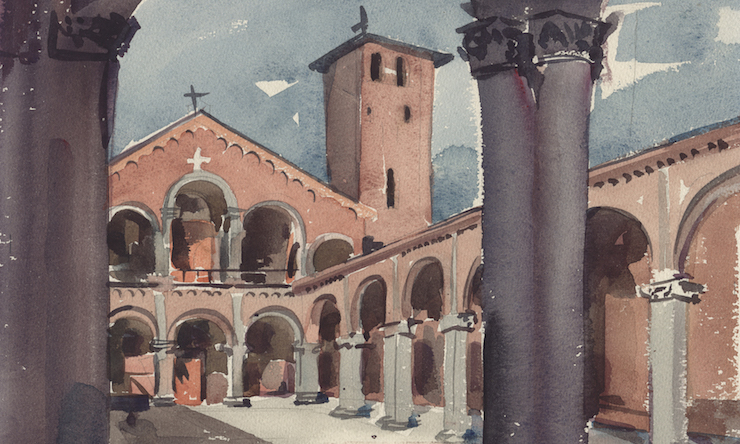 watercolor by Fr. Catich