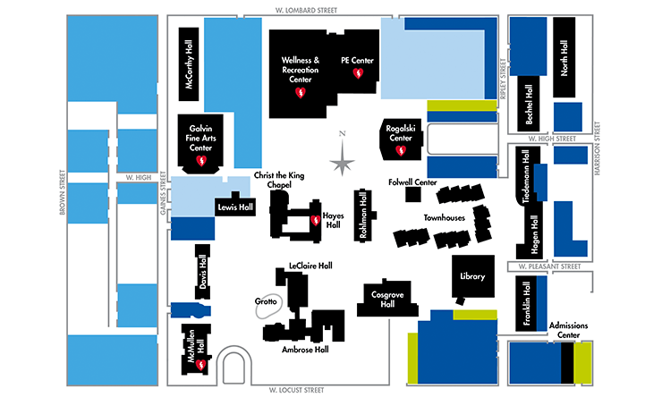Campus Map and Parking PDF
