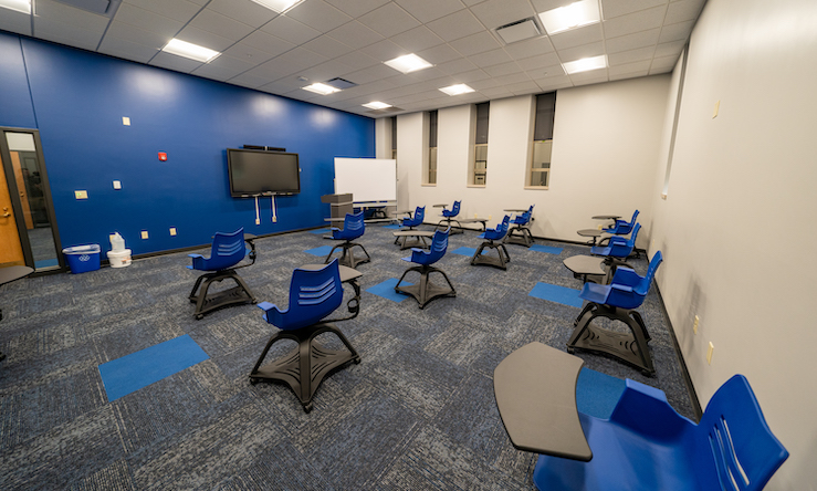 mcmullen hall classroom